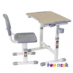 Парта трансформер с ортопедическим стулом FunDesk Piccolino II