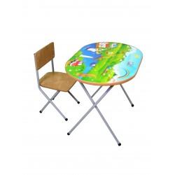 Комплект детской мебели Фея Досуг 102 Моторчики