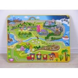 Комплект детской мебели Фея Досуг №1 (стол + стул)