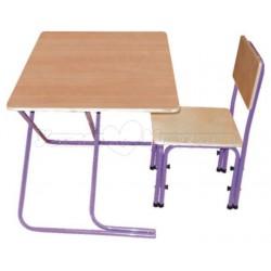 Комплект детской мебели Фея Вырастайка натуральный