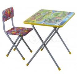 Комплект детской мебели Фея Досуг №3 (стол + стул)