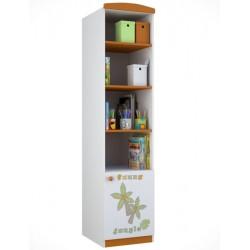 Стеллаж для детской комнаты Polini Basic Джунгли