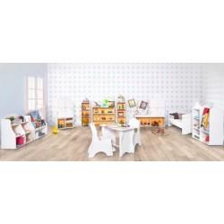 Стеллаж-витрина детский babystep 800