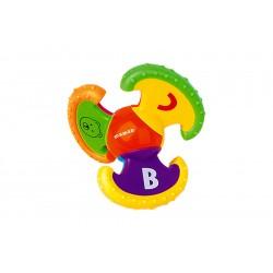 Развивающая игрушка погремушка с подвижными частями Maman 1022