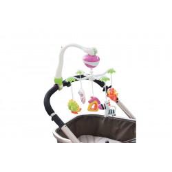 Мобиль музыкальный для детской кроватки или коляски Maman 13015