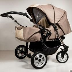 Детская коляска для двойни 2 в 1 Kajtex Sprint Duo