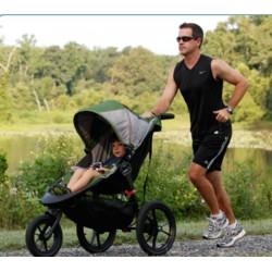 Детская прогулочная коляска Baby Jogger Summit X3