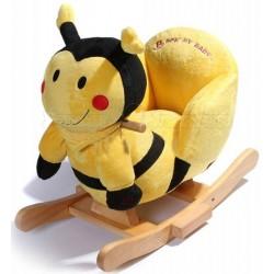 Музыкальная мягкая качалка Пчелка Jolly Ride 2512