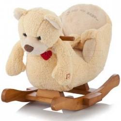 Игрушка-качалка музыкальная Медведь Jolly Ride 2522