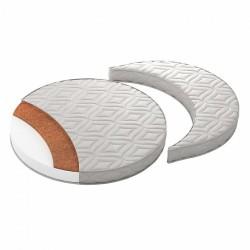 Матрас-трансформер 2 в 1 для круглой и овальной кроватки Giovanni TreeO 90/120*90 см