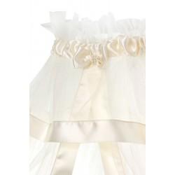 Комплект для круглой кроватки Nuovita Orsetti (9 предметов) бязь, сатин, фатин