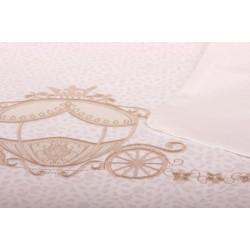 Комплект для круглой кроватки Nuovita Prestigio (6 предметов) сатин