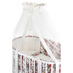 Комплект для круглой и овальной кроватки Nuovita Fiori (6 предметов) сатин, бязь, перкаль, жаккард