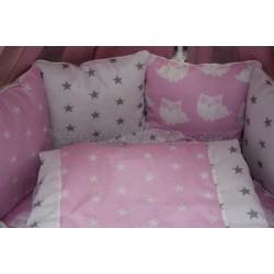 Универсальный комплект для круглой и овальной кроватки 11 предметов Incanto Mite бязь