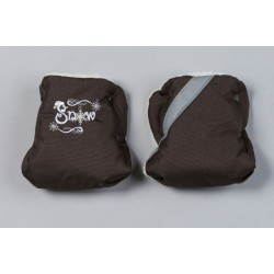 Муфта для рук на коляску (рукавички) Селена (Сдобина) Арт. 96.1