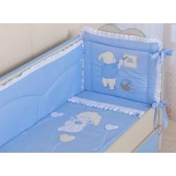 Комплект в кроватку, 7 предметов Селена «Художник»  АРТ. - 65