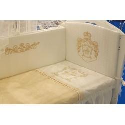 Комплект в кроватку 7 предметов Селена «Императорский 77» АРТ. - 77