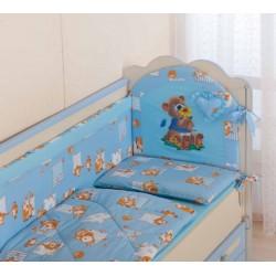 Комплект в кроватку 8 предметов Селена АРТ. - 25.1