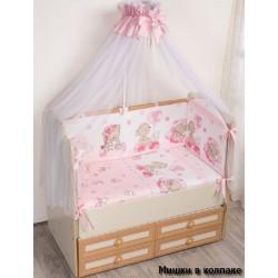 Комплект в кроватку 7 предметов Селена - АРТ. - 59.2