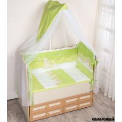 """Комплект в кроватку для новорожденного 6 предметов Селена """"Ночка"""" - АРТ. - 63"""