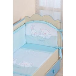 Комплект в детскую кроватку 7 предметов Селена  АРТ. - 50