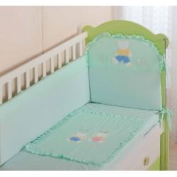 Комплект в кроватку 7 предметов Селена АРТ. - 48.1