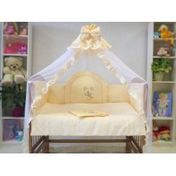 Комплект для детской кроватки 7 предметов Монис стиль Панно