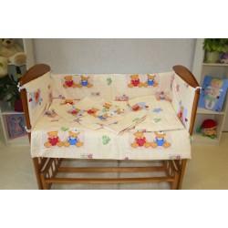 Комплект в детскую кроватку 6 предметов Монис стиль К-06/6
