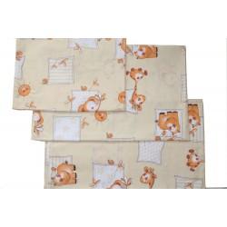Комплект постельного белья 3 предмета Монис стиль Зоо