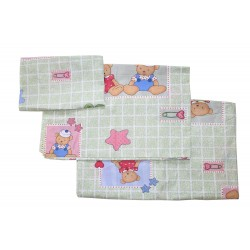 Комплект постельного белья в детскую кроватку Монис стиль Мишки 3 предмета