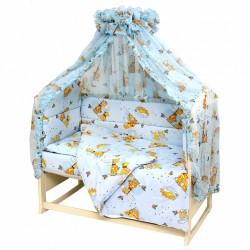 Комплект в детскую кроватку Топотушки Жираф Вилли 7 предметов