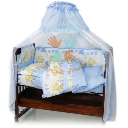 Комплект в детскую кроватку Топотушки Звездочка 7 предметов