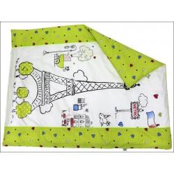 Комплект в детскую кроватку Топотушки Париж 7 предметов