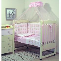 Комплект в детскую кроватку Топотушки Мишутка 7 предметов