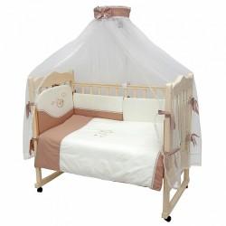 Комплект в детскую кроватку Топотушки Карамелька 7 предметов
