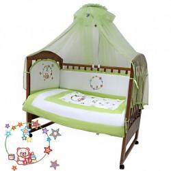 Комплект в детскую кроватку Топотушки Карусель 7 предметов