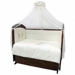 Комплект в детскую кроватку Топотушки Аморе Мио 7 предметов