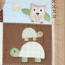 Набор для детской кроватки 7 предметов Giovanni Froggy Friends (серия Shapito)
