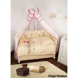 Комплект постельного белья Крошкин дом Дискавери 120х60см