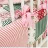 Комплект в кроватку 18 предметов Крошкин дом Бабушкин комод с подушечками