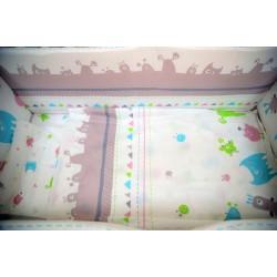 Комплект постельного белья Polini Монстрики 140х70см