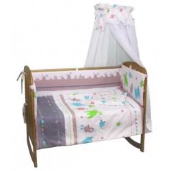 Комплект в кроватку Polini Монстрики 7 предметов 120х60см