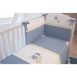 Комплект постельного белья Polini Плюшевые мишки 120х60см