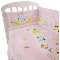 Комплект постельного белья Polini Мишки 120х60см 3 предмета