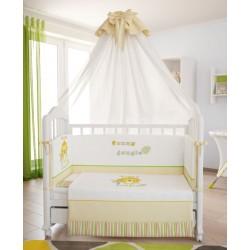 Комплект в кроватку Polini Джунгли 7 предметов 120х60см