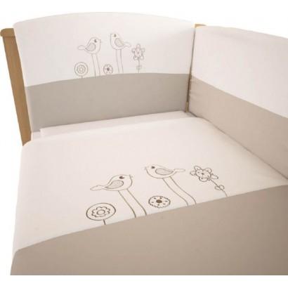 Комплект постельного белья Polini Волшебная полянка 140х70см 3 предмета