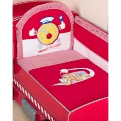 Комплект в кроватку Селена 84 Turbo-Max 7 предметов бязь, сатин