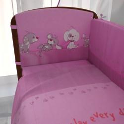 Комплект в кроватку Фея Веселая игра 7 предметов