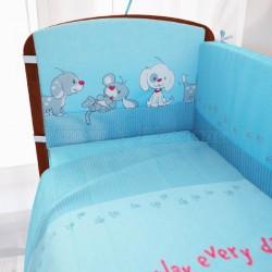 Комплект в кроватку Фея Веселая игра 6 предметов