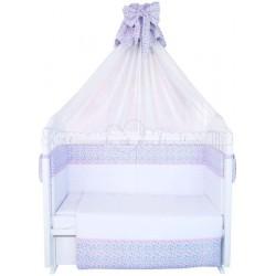 Комплект в кроватку Polini Очарование 7 предметов